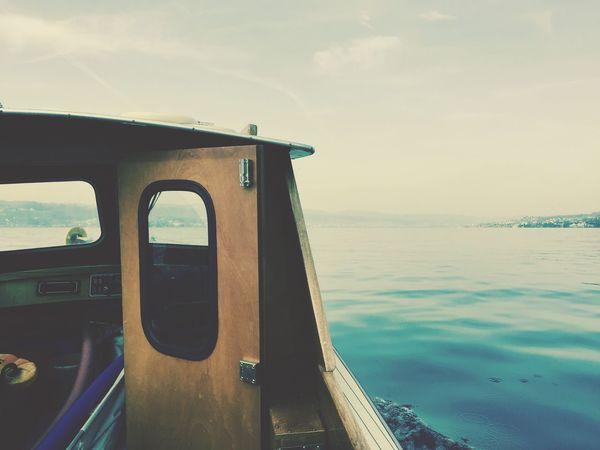 Boat Lake Lake Of Zurich Enjoying Life Spring Springtime