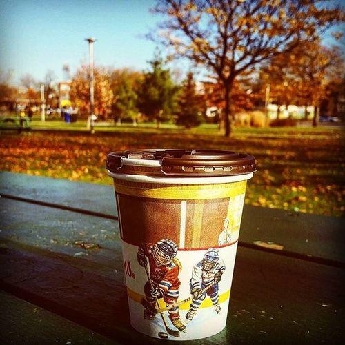 Refreshingcoffee Fallintoronto Ilovetoronto Christiepitspark Christiepits