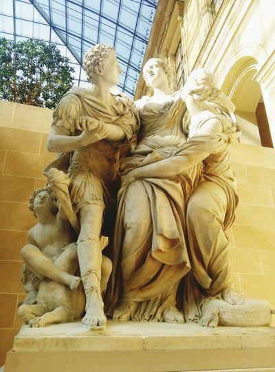 Sculpture No People Statue Sculptures Lovre Paris ❤ ArtWork Cultures