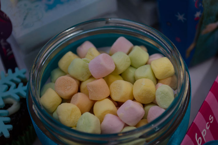 Birthday Party Bowl Candies Circles Close-up Colorful Candy Food Food And Drink Freshness Indoors  Kids Kids Party Mm No People Sweet Food Sweets