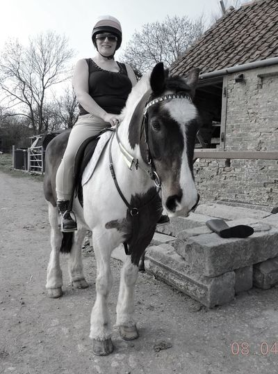 Blackandwhite Photography Horse Horserider Horseriding One Animal Relaxation Relaxing Thatsme ❤️ Togetherness