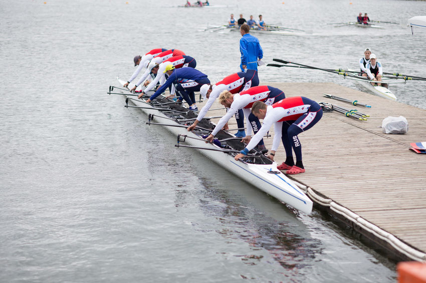 Olympic Rowing Course,Moscow Day Outdoors