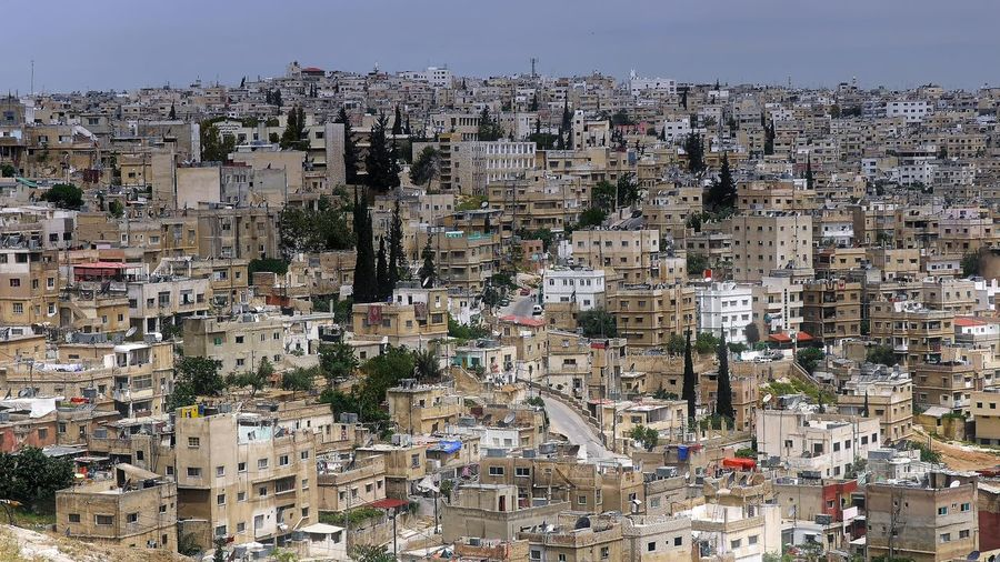 A vue of Amman (2008) 🇯🇴 Amman Cityscape Jordan Middle East Apartment Architecture Building Building Exterior Built Structure City City Life Cityscape Clear Sky Community Crowd Crowded Day High Angle View House Location Nature Outdoors Residential District Sky TOWNSCAPE Travel Destinations