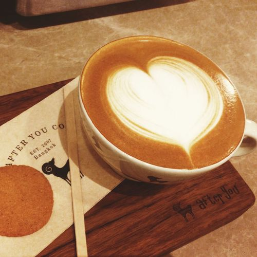Where there's a will, there's a way! Latteart Heart Heartcoffee Latteheart Cappuccino Cappuccino Break Barista Practicing
