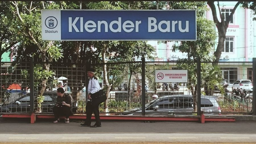 Klender Baru Station First Eyeem Photo