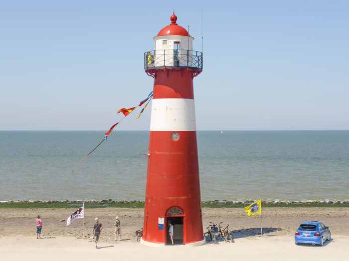 The lighthouse,
