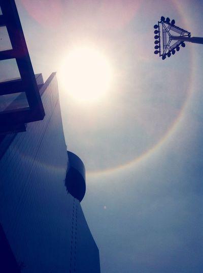 Se acuerdan te este fenómeno natural yo lo capture así.😎🌟🌇 Hello World Buenastardes Hello WTC