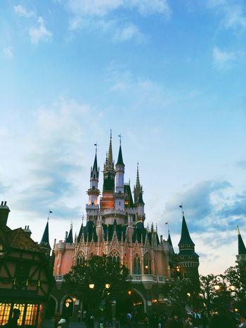 Disneyland Tokyo Tokyo Disney Land Tokyodisneyland Cinderella Cinderella Castle Vscocam Japan Disney