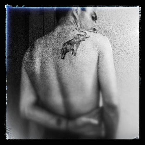 Me & Mono Selfportrait Monochrome