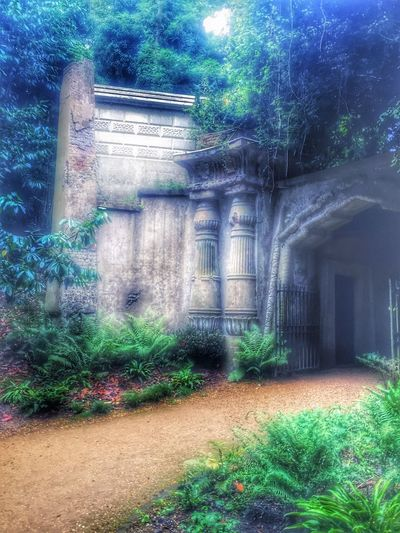 Architecture Graveyardbeauty Graveyard Collection Hauntingly Beautiful Story Behind The Picture Building Exterior Sandies Cemetaryscape Gothic Artistry By Sandie Gothic Gothic Art Graveyard Beauty Beautiful Architecture Entrance Enter The Void Enter If You Dare Mausoleum