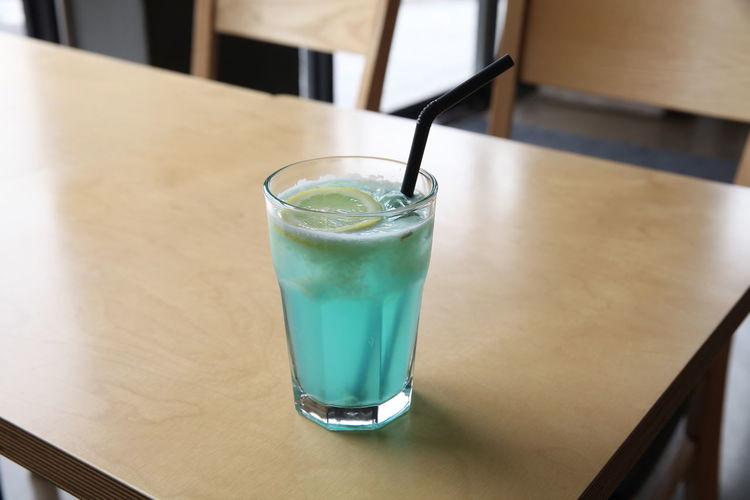Beverage Blue Lemonade Cafe Menu Glass Lemonade