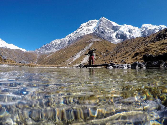The Kanchenjunga from samiti lake first eyeem photo EyeEmNewHere
