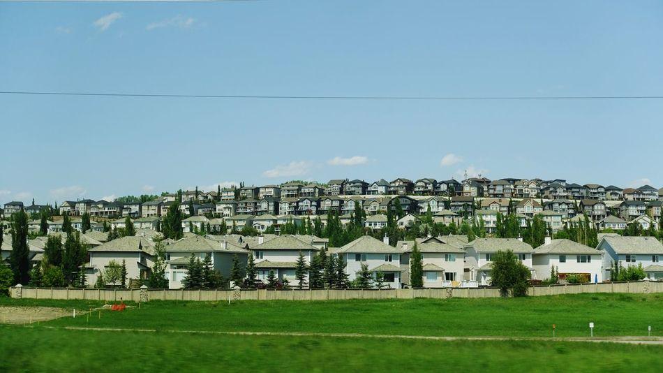 Calgary Alberta Canada Exploring Abventure New Lifestyle  Travel Town Houses