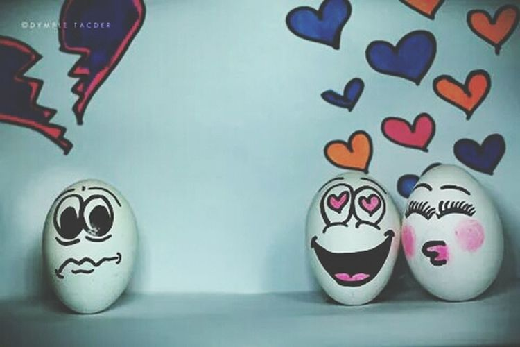?❤ Egg Arts Egg Emoticons Photography Still Life Photography