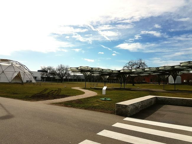 Vitra Vitra Campus Sky Day Cloud - Sky No People Outdoors Built Structure Architecture Artefact