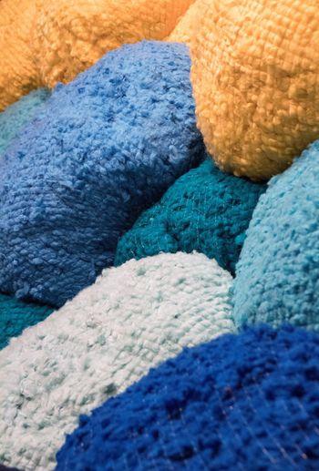 Exhibit la Biennale di Venezia Canon1300d Exhibit La Biennale Di Venezia EyeEm Best Shots Venice, Italy Beauty Blue Close-up Day Indoors  Multi Colored No People Pattern Textured  Wool
