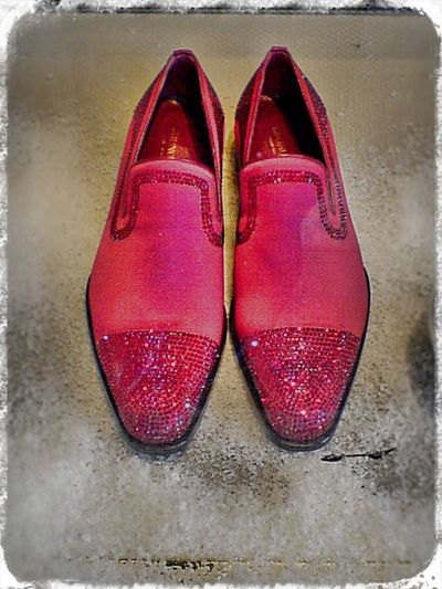 Turin Ruby Slippers Man Shoes Red Shoes IPhoneography Shoes