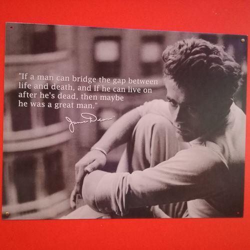 Jamesdean Jamesdeanbaby Life Death Lifeanddeath Greatman♥ Only Men Poster Wall Americangraffiti