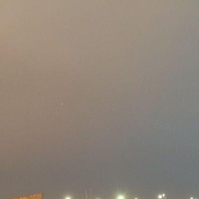 A few days ago, nice little thunderstorm