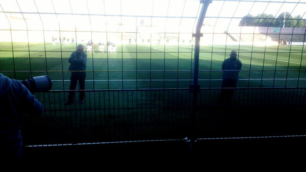 My Smartphone Life Eyeem Missions Match Watching Football Red Star Cheese! Body Guard Amiens vs Red star/3-3