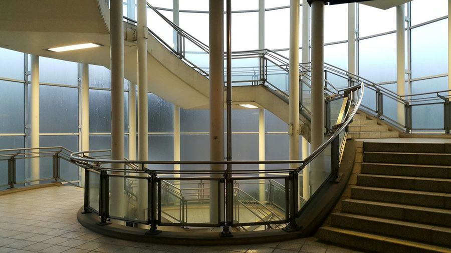 City Train Station City Life Early Morning Morning Light Industry Steps And Staircases Staircase Factory Railing Metal Architecture Built Structure Spiral Spiral Staircase Spiral Stairs Stairs Steps Stairway