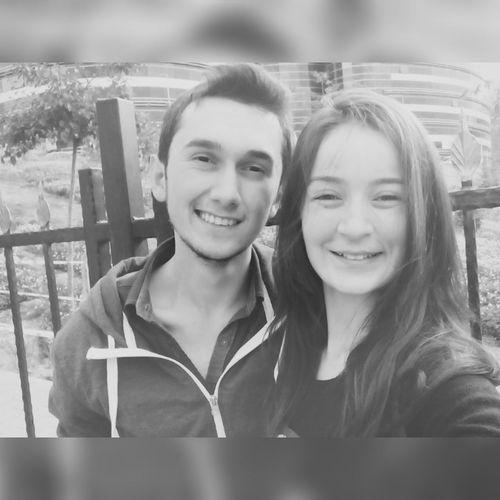 Love <3 My Boyfriend ❤ Sevdicek Smile Blackandwhite Karabuk Aşk♥ en güzel günüm en güzel parçam 💑💏💏❤💜😍