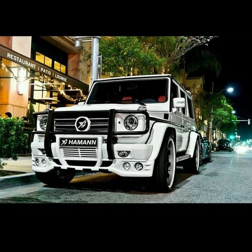 Mercedes Benz G550 Amazing Car ^-^ ....good night
