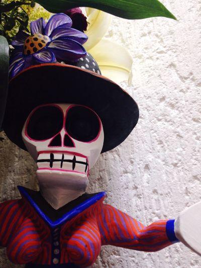 Alebrije Skull Mexico Alebrije Tradición