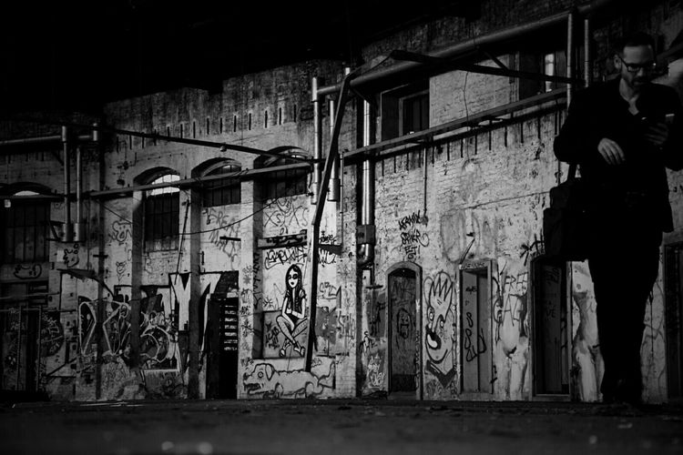Picture taken by @fholznag - my edit That's Me Abandoned Lostplaces Rottenplaces Darkness And Light Urban Decay Eye4photography  Blackandwhite Monochrome in Berlin
