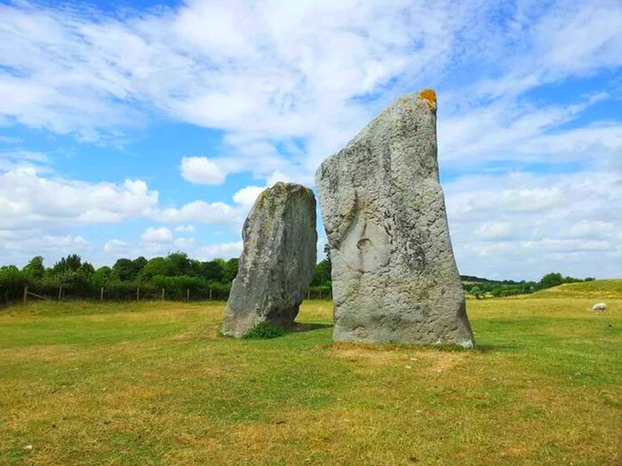 StoneHedge Prehistoric Monument Landscape in Wiltshire, England