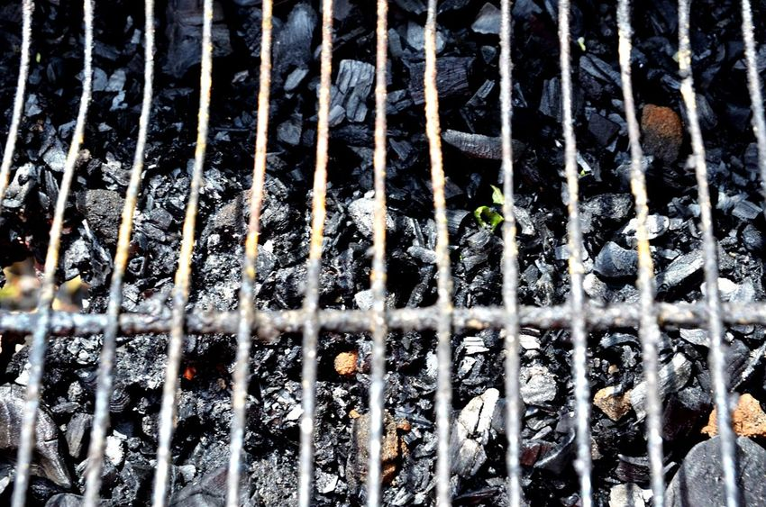 Backgrounds Metal Close-up Grill Grilled Barbecue Striped Black Coal Fired Burn Burning Eyeemphotography Capture The Moment From My Point Of View Todayphotography Art Is Everywhere Focus On Foreground Coal Fire Acient