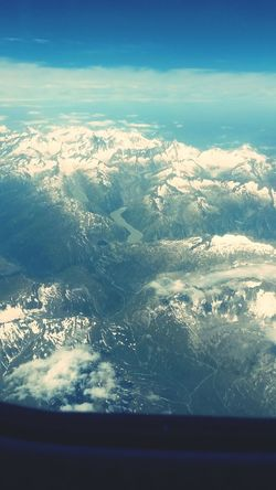From An Airplane Window ♥