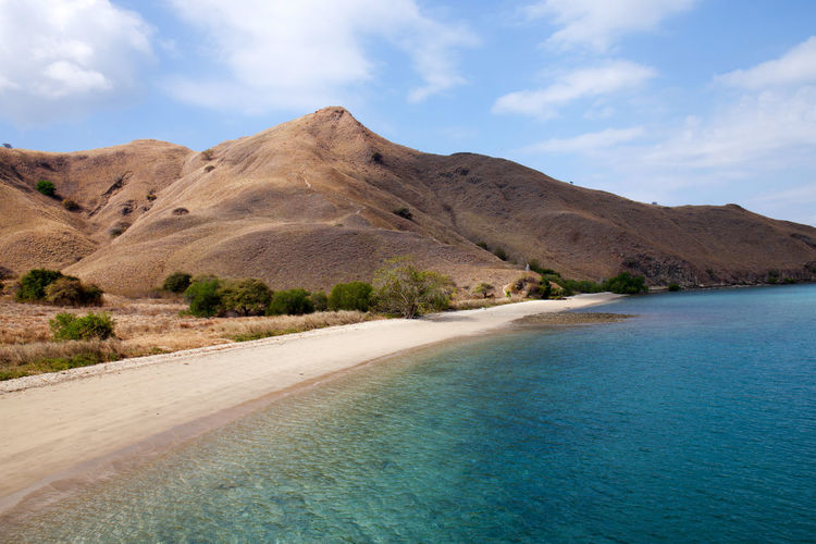 Gili Lawa Beach Komodo National Park Indonesia Beach Day Flores Gili Lawa INDONESIA Komodo National Park Landscape Nature No People Outdoors Sand Scenics Sky Tranquil Scene Tranquility Travel Destinations Water