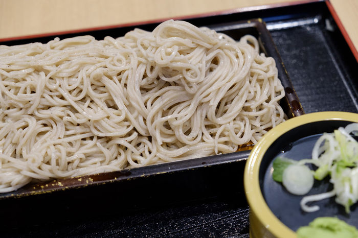 FUJIFILM X-T2 Japan Japan Photography Japanese Food Noodles Soba Noodles Tokyo Close-up Food Food And Drink Freshness Fujifilm Fujifilm_xseries Healthy Eating Indoors  No People Plate Ready-to-eat Soba X-t2 そば 蕎麦
