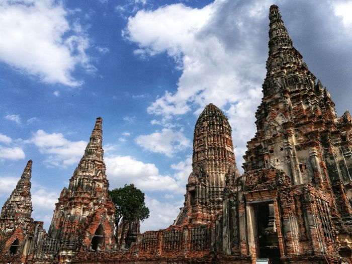 Historic City of Ayutthaya City Cityscape History Business Finance And Industry Religion Place Of Worship Cultures Sky Architecture Building Exterior Tall - High Tower Architectural Feature Architectural Detail Architecture And Art Architectural Design