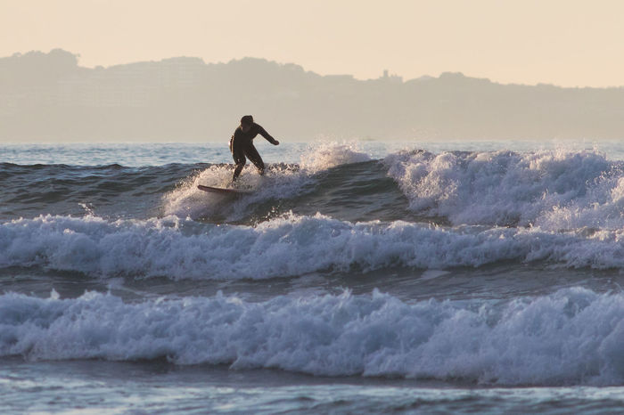 Sport Wave Sea Surfing Silhouette Extreme Sports Sky One Person Water Full Length Outdoors People Skill  Adult Nature Aquatic Sport Day Adventure One Man Only Men