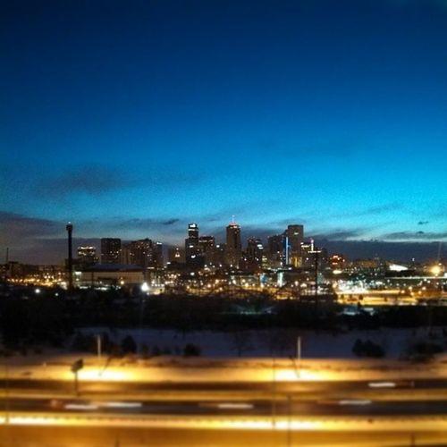 Daybreak in the Mile High City, Denver Colorado