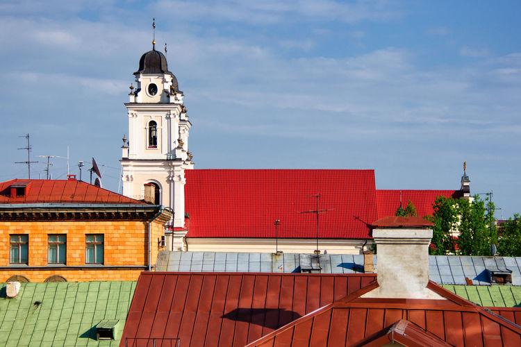 Old Buildings In Belarus