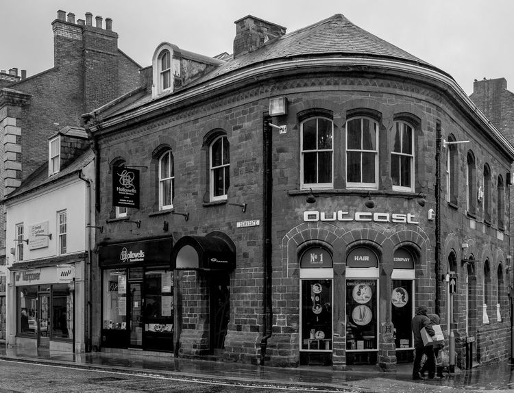 Former auction house, Derngate, Northampton Monochrome Photography FUJIFILM X-T2 Black And White Monochrome FUJIFILMXT2 Northampton Architecture