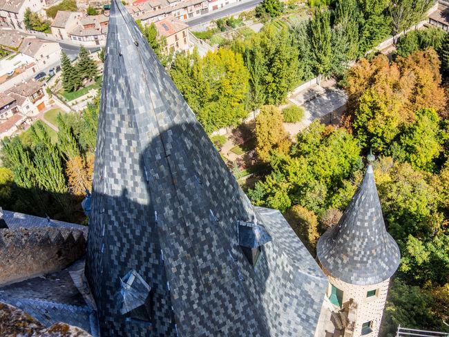 Alcazar Architecture Castle Famous Place History Segovia SPAIN Tower