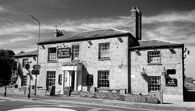 The New Inn, Leven, East Yorkshire East Yorkshire Architecture Monochrome Black And White