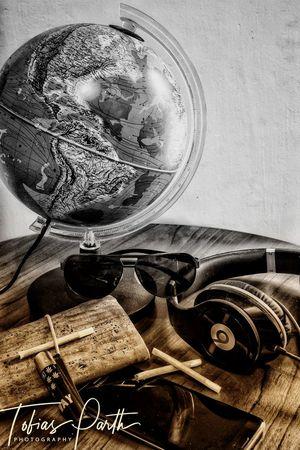 StillLifePhotography Traveltheworld Music Cigarettes Globe Planet Earth EyeEmNewHere The Still Life Photographer - 2018 EyeEm Awards