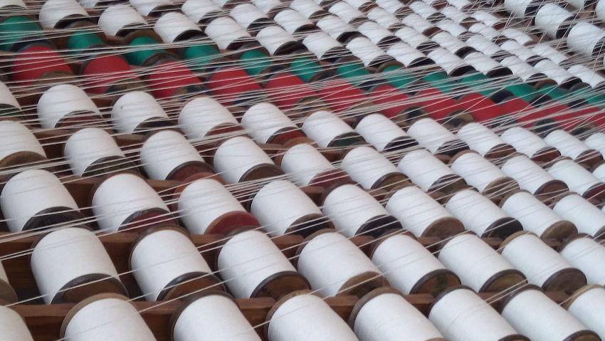 Hilos Telar Tejer  Textile Factory Textile Industry Textile Machinery Textile Production Textile History Yarn Production Textile Museum