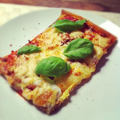 Well hello, homemade pizza!