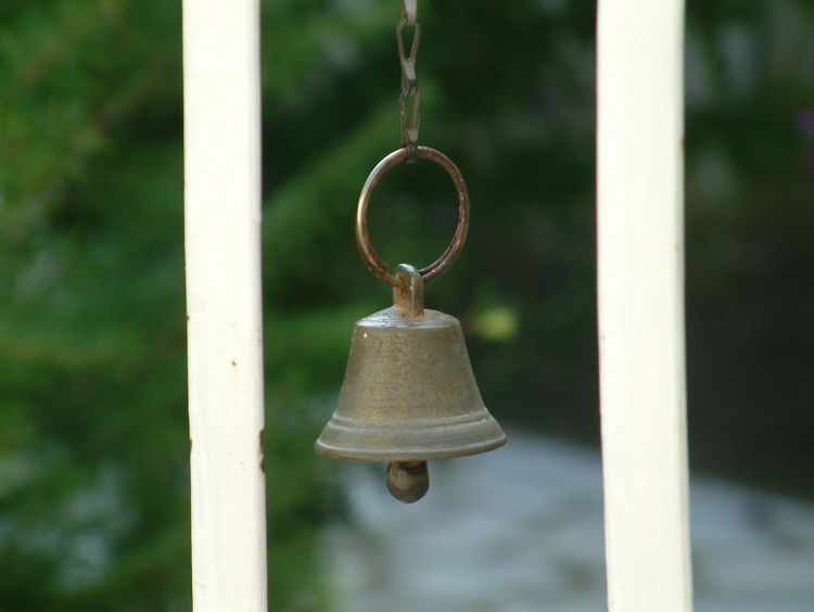 door bell Bell Bell Close-up Day Door Bell Focus On Foreground Hanging Metal No People Outdoors