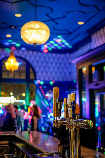 Chase Park Plaza has plenty to do, including always something happening at night! Beer Lighting Equipment Live Music Bar Beer Tap Chase Park Plaza Club Hotel Bar Illuminated Indoors  Night Nightlife Scene