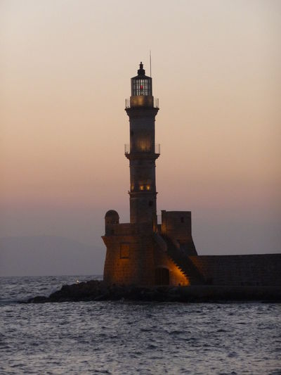 Chania guiding venetian light Ancient Architecture Venetian