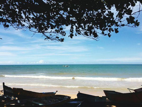 Vila dos pescadores Brazil Brasil Turismo Cidades Espírito Santo Horizon Over Water Travel Destinations Sky Landscape Scenics Cloud - Sky Tourism Tranquility Travel Vacations Nature