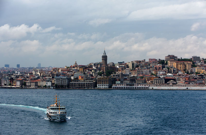Istanbul ,Galata Tower , Galata Kulesi. Istanbul Galata Tower Turkey Architecture Building Building Exterior Built Structure City Cityscape Cloud - Sky Cruise Ship Day Galata Galata Kulesi Mode Of Transportation Nature Nautical Vessel No People Outdoors Passenger Craft Sea Sky Transportation Travel Water Waterfront