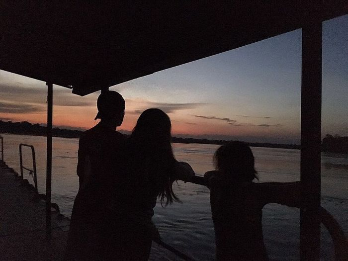 Naranja Atardecer Paz ✌ ILove Colombia ♥  Tierra Linda Two People Sea Sunset Silhouette Real People Beach Men Lifestyles Sky Togetherness Rear View Women Standing Horizon Over Water Leisure Activity Outdoors Water Nature People Adult